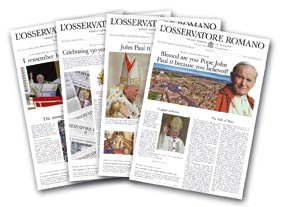 L'Osservatore Romano - One Year Subscription