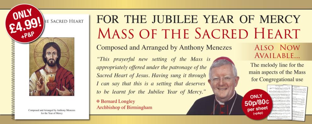 Mass of Sacred Heart Banner
