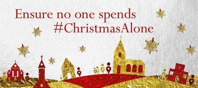 Premier Christian Radio 'Christmas Alone' campaign