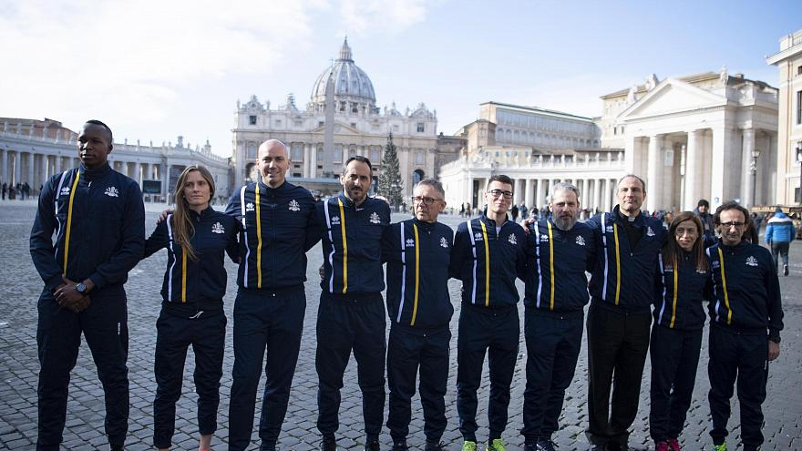 Nuns on the run: Vatican's new track team dreams of Olympic glory