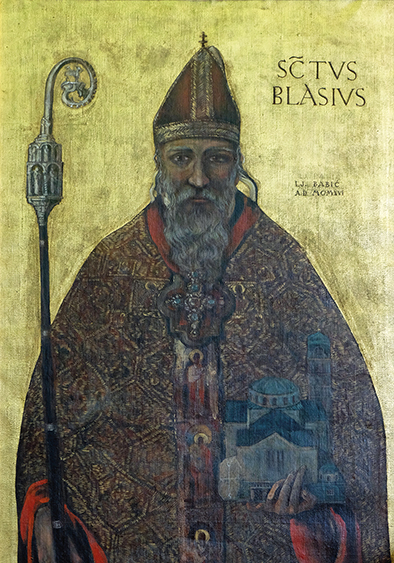 St Blaise – Saint of the Throat
